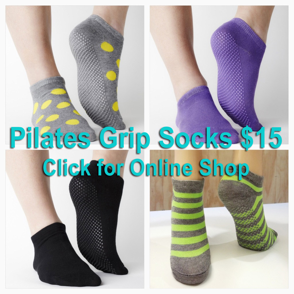 Pilates Grip Socks - Buy Now