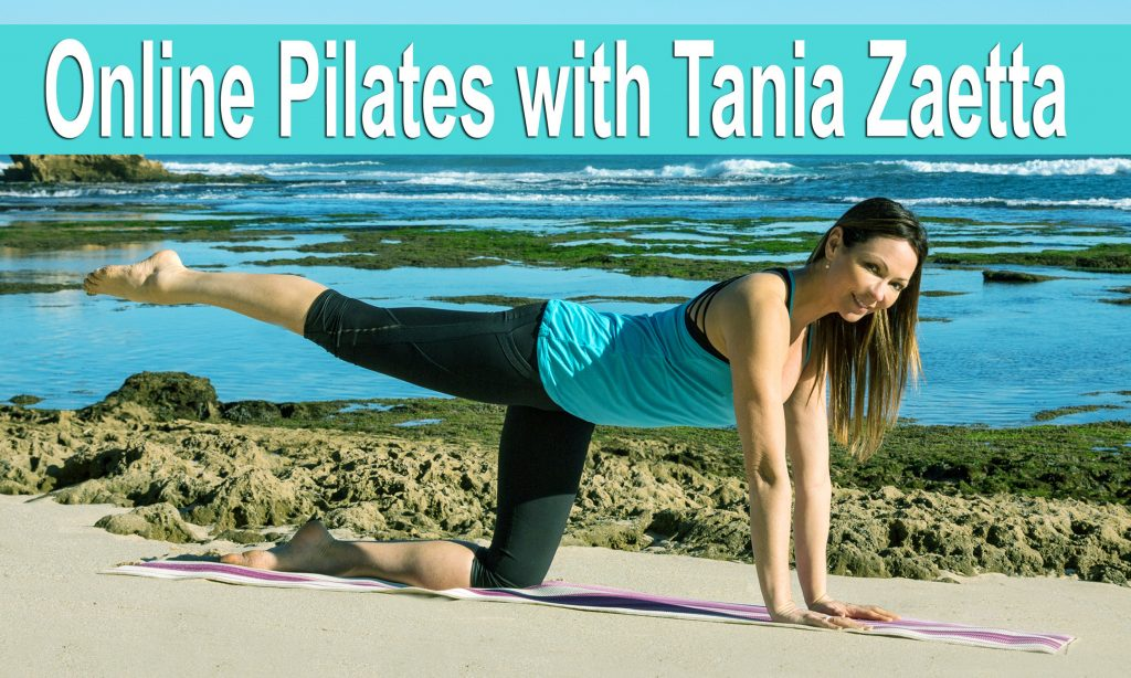 Tania Zaetta - FB Easter Online Pilates Weightloss Advert copy
