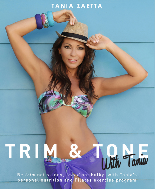 Tania Zaetta 'Trim & Tone with Tania' Book Cover