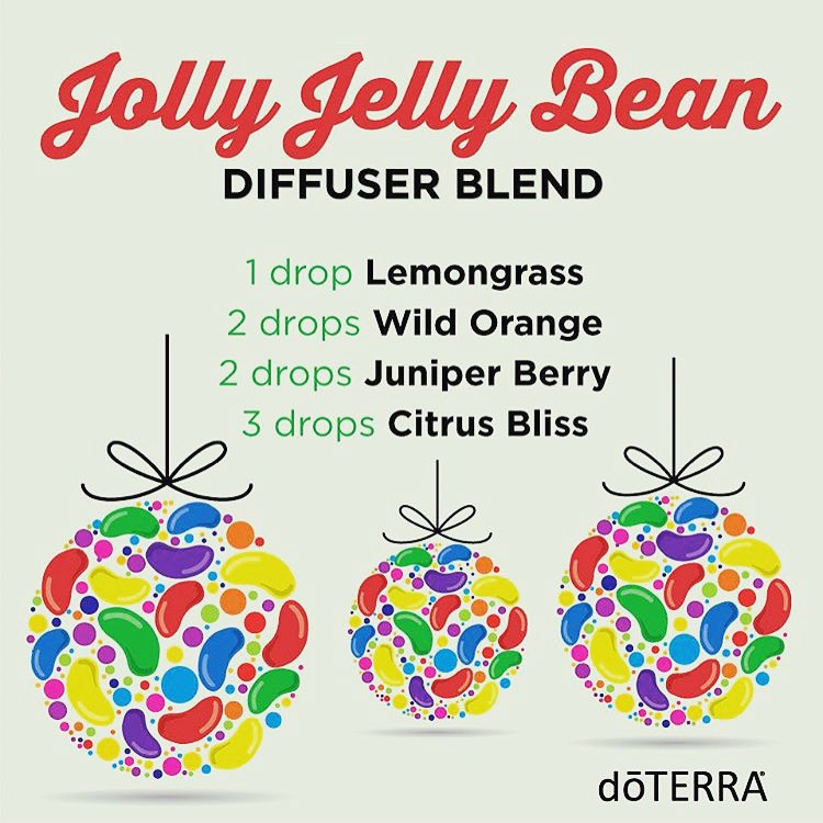 Diffuser Blend, Essential Oils, Jollu Jelly Bean, Lemongrass, Wild Orange, Juniper Berry, Citrus Bliss, doTERRA, Uplifting, Morning, Daytime