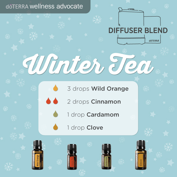 doTERRA essential oil diffuser_blend-winter-tea