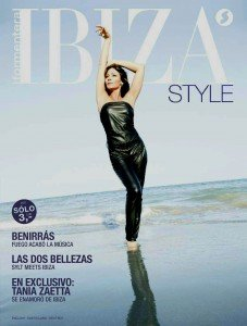 Tania's 'Ibiza Style' Cover Shoot