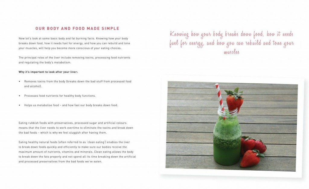 Tania Zaetta 'Trim & Tone with Tania' Book Extract - Our Body & Food Made Simple