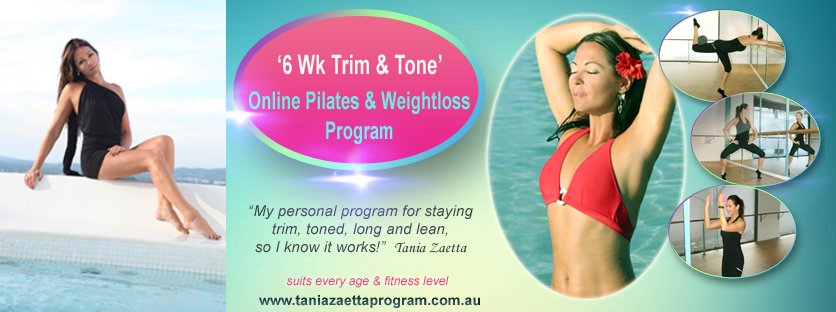 Tania Zaetta - 6 Wk Trim & Tone - Online Pilates Workouts
