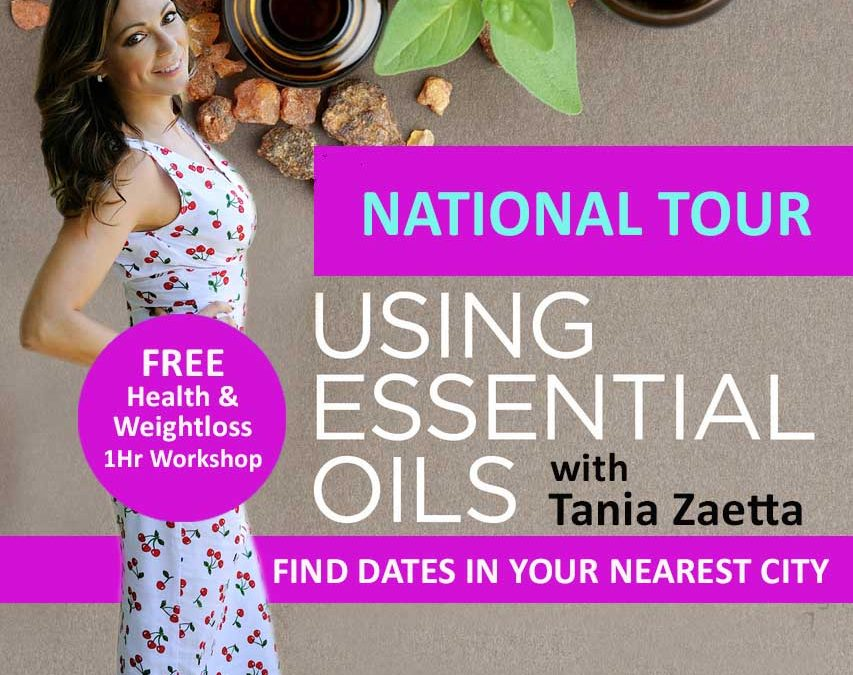 FREE Community Health & Essential Oil Workshops with Tania Zaetta