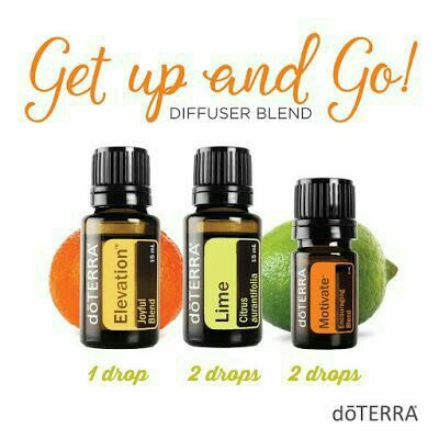 Diffuser Blend - Get Up & Go with doTERRA Essential Oils