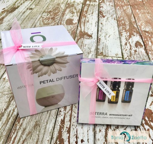 doTERRA Diffuser & Essential Intro Kit Gift Set