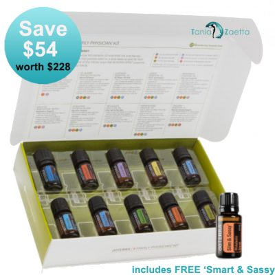 Physicians Kit, Smart & Sassy, Essential Oils,