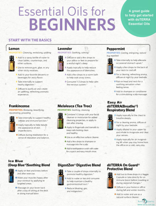 10 Most Popular Essential Oils Uses