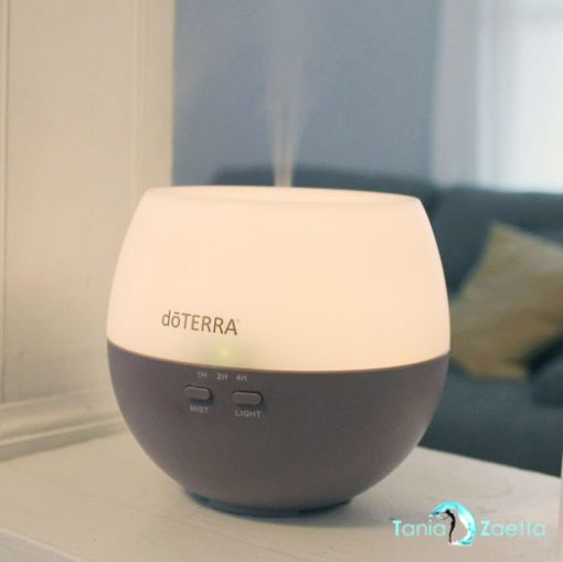 doTerra, Petal Diffuser, Essential Oils, silent, light, fog, aromatherapy