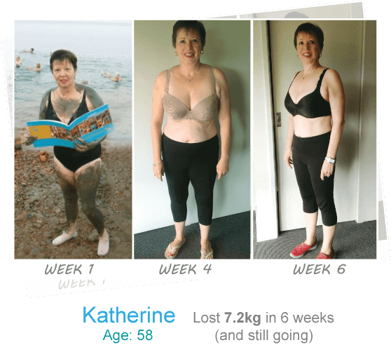 Katherine's 6 week trim and tone results