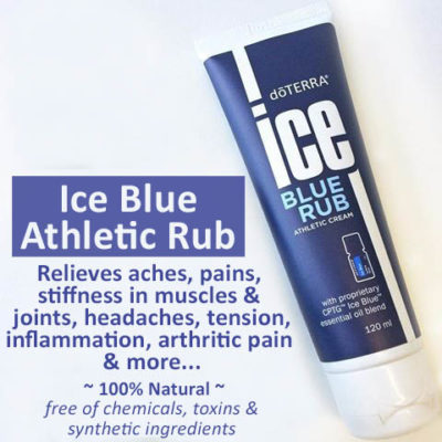 Ice Blue Athletic Rub